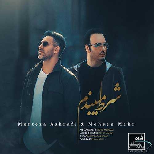 دانلود آهنگ جدیدمرتضی اشرفی و محسن مهر به نام شرط میبندم