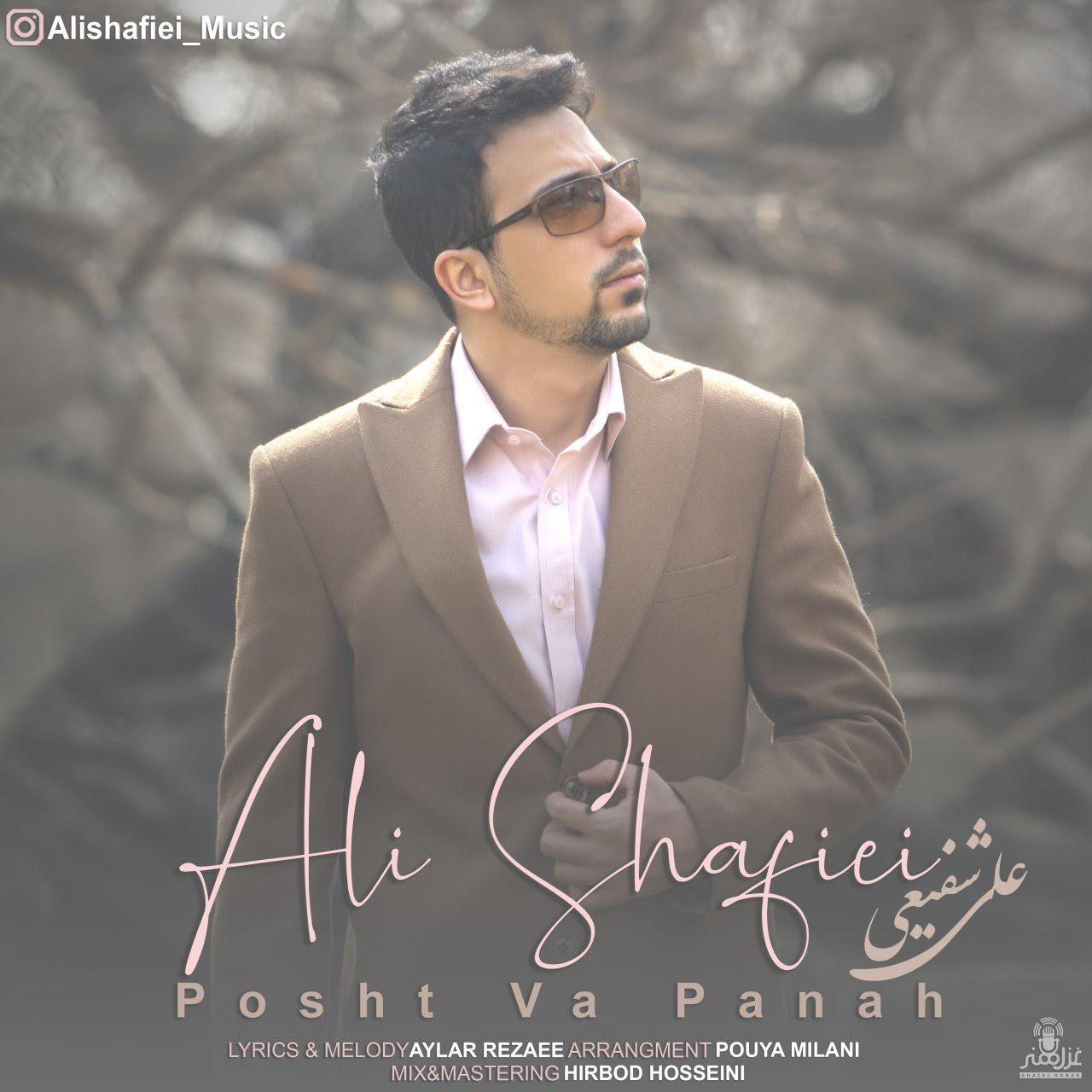 دانلود آهنگ جدید علی شفیعی به نام پشت و پناه