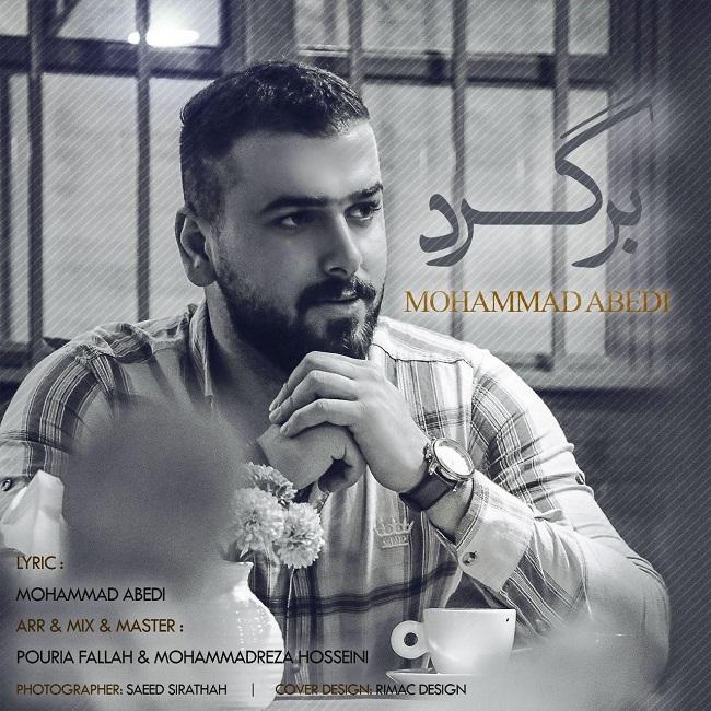 دانلود آهنگ جدید محمد عابدی به نام برگرد
